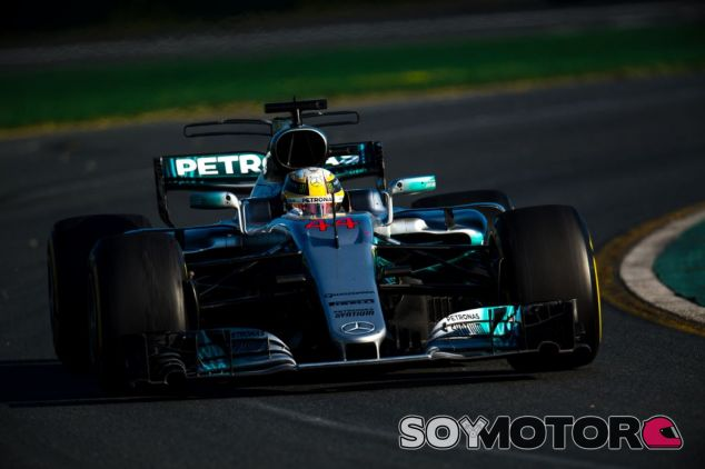 Hamilton no pudo ganar en Australia - SoyMotor