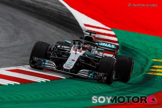 Lewis Hamilton en Austria - SoyMotor