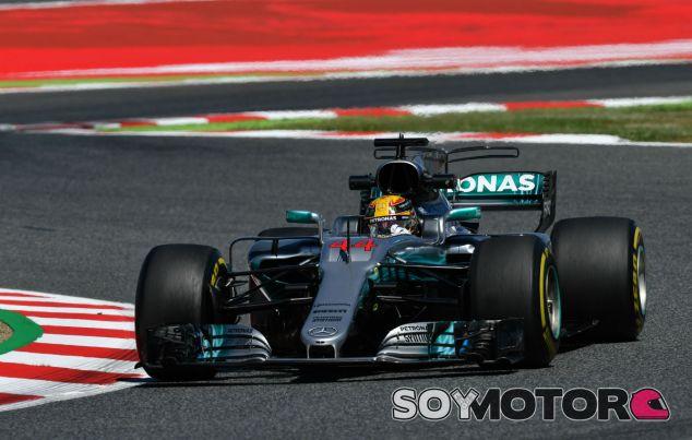 Mercedes en el GP de España F1 2017: Viernes - SoyMotor.com