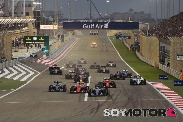 Salida del Gran Premio de Baréin F1 2015 - LaF1
