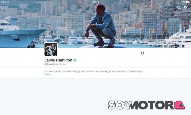 Esta es la imagen que ve Byron Young en el perfil de Hamilton - LaF1