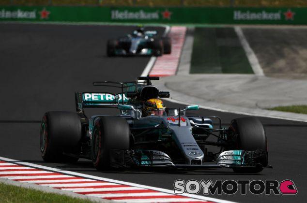 Mercedes en el GP de Hungría F1 2017: Viernes - SoyMotor.com