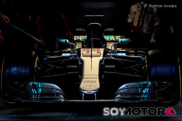 El coche de Lewis Hamilton en Brasil - SoyMotor
