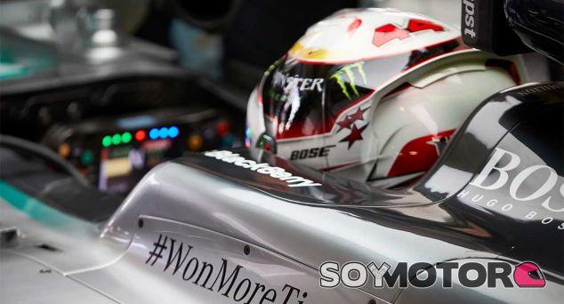Lewis Hamilton en el pasado GP de México - LaF1