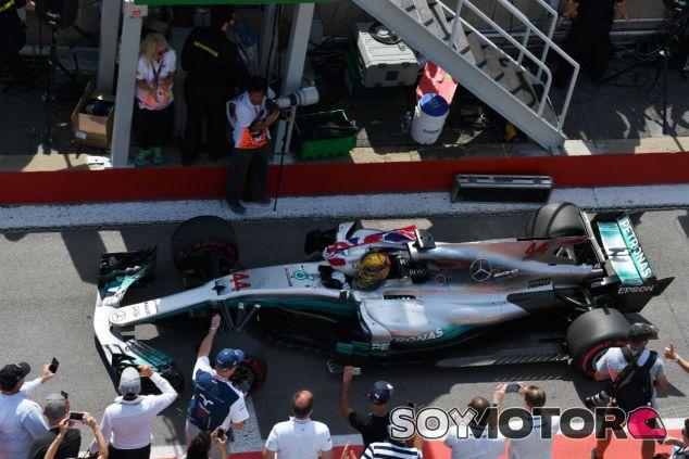 """Hamilton gana: """"Aquí fue mi primera victoria, es increíble repetirlo"""" - SoyMotor.com"""