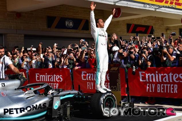 Lewis Hamilton en el GP de Estados Unidos F1 2019 - SoyMotor.com