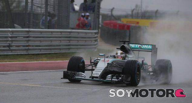Lewis Hamilton en Estados Unidos - LaF1