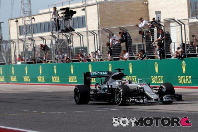 Hamilton espera repetir victoria en México - LaF1