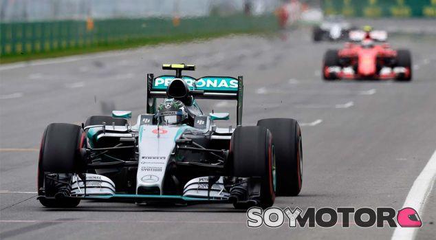Nico Rosberg y Kimi Räikkönen en Canadá - LaF1