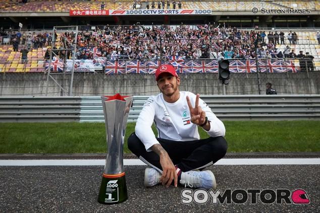 Lewis Hamilton en una imagen de archivo - SoyMotor.com