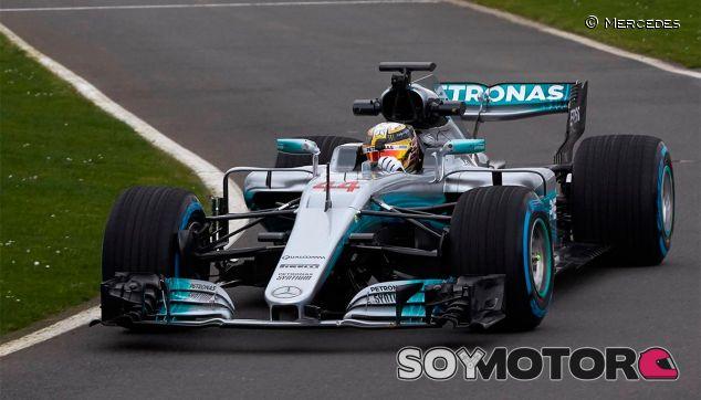 Lewis Hamilton en Silverstone - SoyMotor