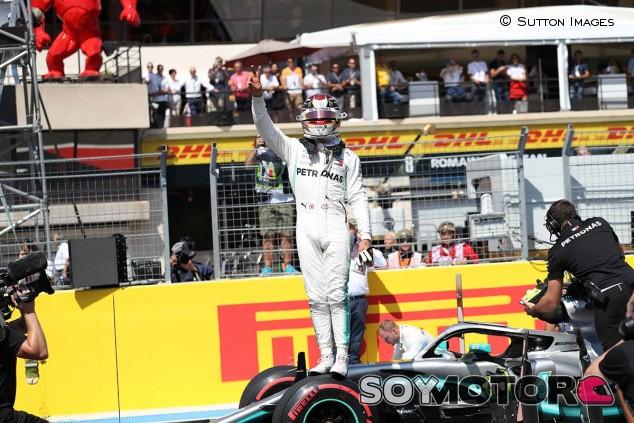 Lewis Hamilton celebra la Pole en el GP de Francia F1 2019 - SoyMotor