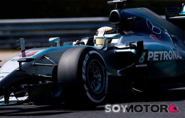 Lewis Hamilton en el Gran Premio de Hungría  - LaF1