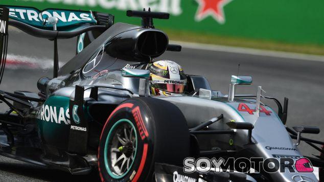 Hamilton consigue la 56ª Pole Position de su trayectoria - LaF1