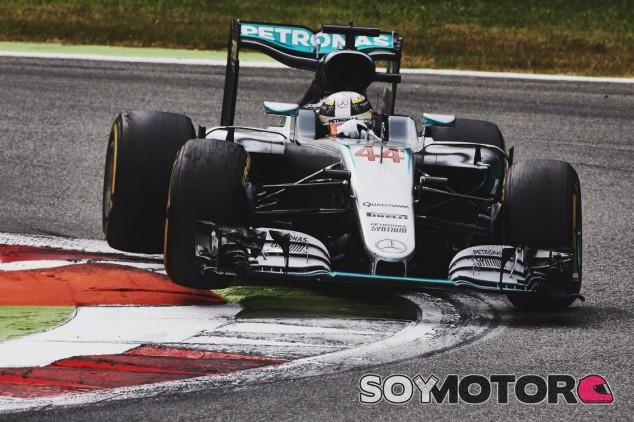 Hamilton no pudo llegar hasta Rosberg - LaF1