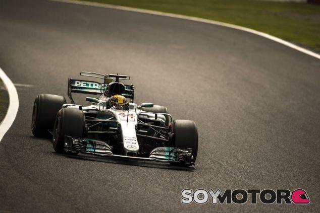 Hamilton en Suzuka - SoyMotor.com