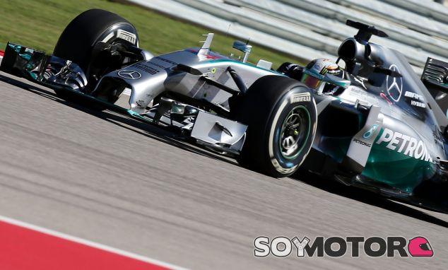 Lewis Hamilton en el Circuit of the Americas - LaF1