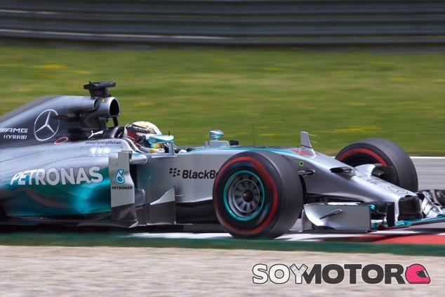 Lewis Hamilton en Austria 2014 - LaF1