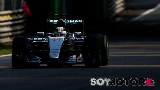Lewis Hamilton en Italia - LaF1