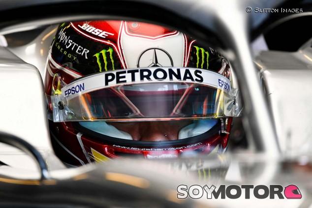 Lewis Hamilton en el GP de Hungría F1 2019 - SoyMotor.com