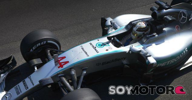 Hamilton en Spa-Francorchamps - LaF1
