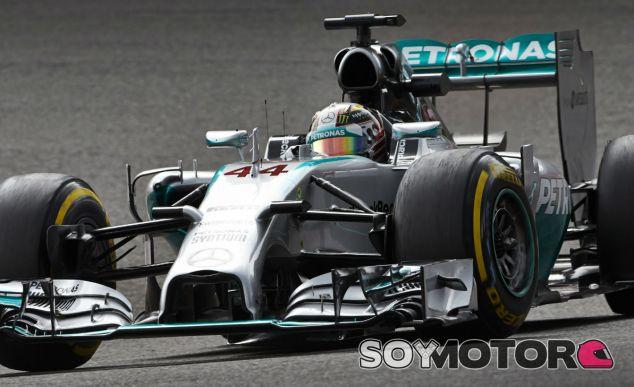 """Hamilton: """"Estaba un poco nervioso por todos los problemas que he tenido últimamente"""" - LaF1.es"""