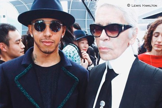 Hamilton cambia el media day de Francia por un homenaje a Lagerfeld - SoyMotor.com