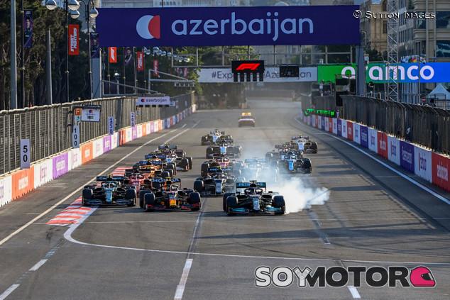 Marko temía que Hamilton sacara a Pérez de carrera en la resalida de Bakú - SoyMotor.com