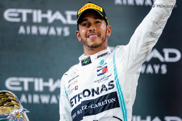 Hamilton gana a Nadal como mejor deportista europeo 2019 - SoyMotor.com