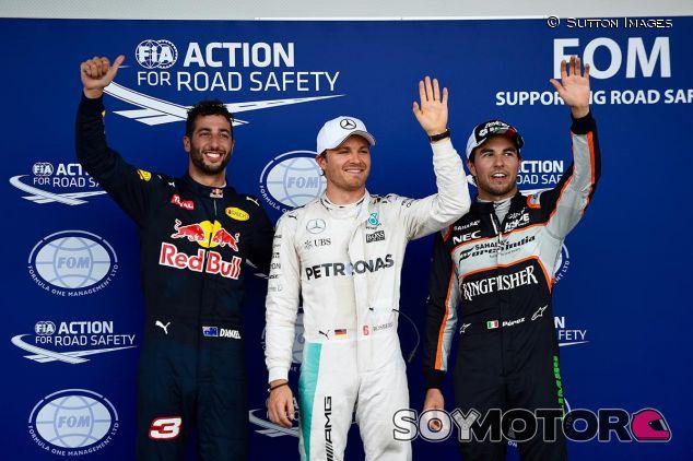 Pole de Nico Rosberg en Bakú - SoyMotor