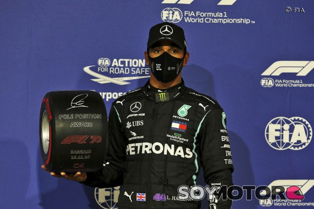 Hamilton vuela hacia una nueva Pole en Baréin - SoyMotor.com