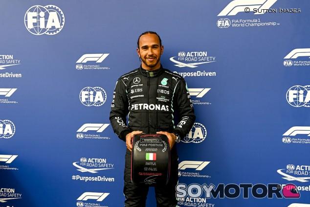 Hamilton se destapa y consigue una ajustada Pole en Imola; Pérez segundo