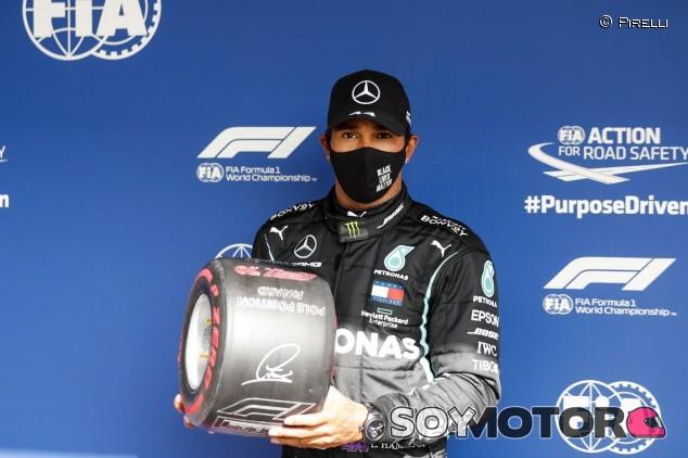 Hamilton logra la Pole en Portugal con neumáticos medios; Sainz 7º - SoyMotor.com