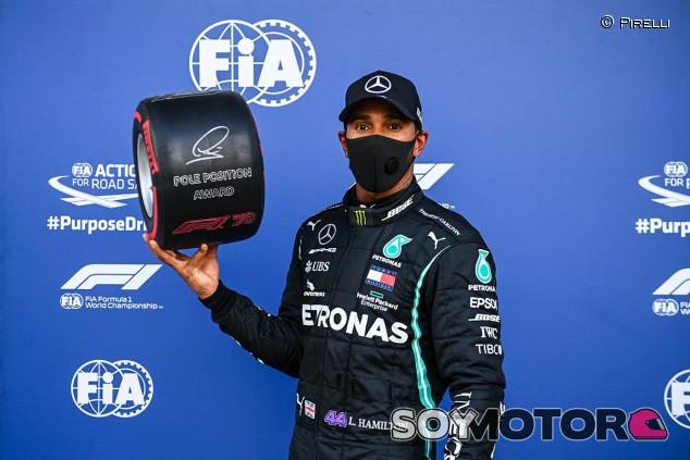 Hamilton, Pole en Rusia para acariciar el récord de Schumacher; Sainz 6º - SoyMotor.com