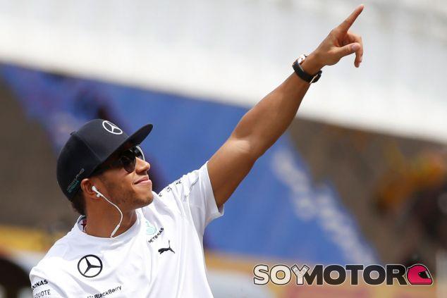 Lewis Hamilton antes del Gran Premio de España - LaF1