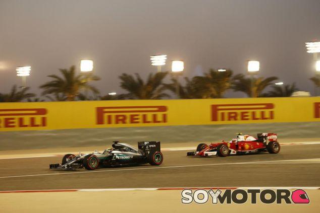 Mercedes nota el aliento de Ferrari - LaF1