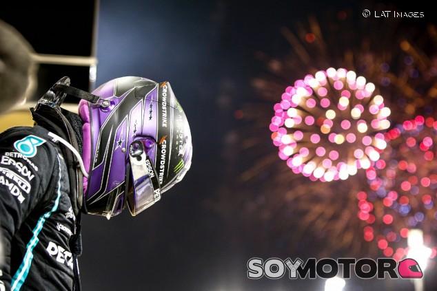 Hamilton, tras su victoria en Baréin - SoyMotor.com