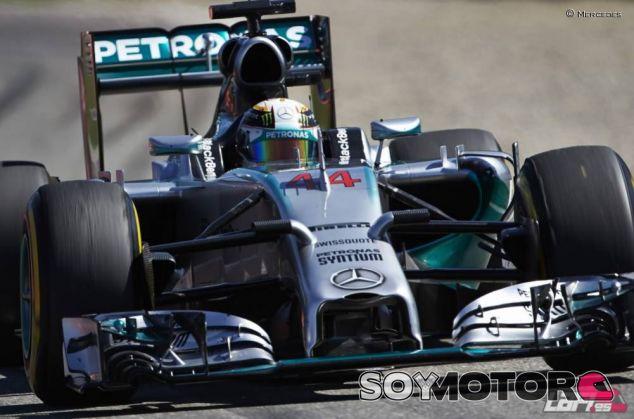 Lewis Hamilton en Alemania - LaF1
