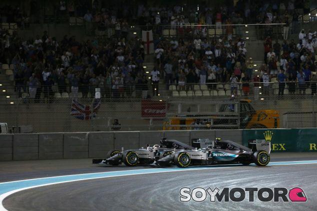 Sólo ocho puntos separan a Hamilton de Rosberg - LaF1