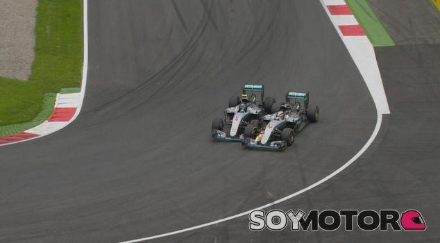 Hamilton y Rosberg no coinciden en pista desde el GP de Austria en Julio - LaF1