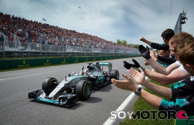 Hamilton toma la victoria en el Gran Premio de Canadá de 2015 - LaF1