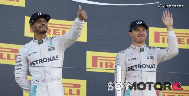 Hamilton y Rosberg pelearán por el título - LaF1