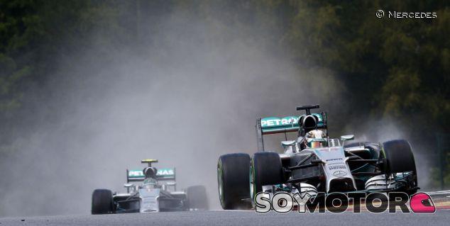 Rosberg rechaza detallar su visión del incidente con Hamilton