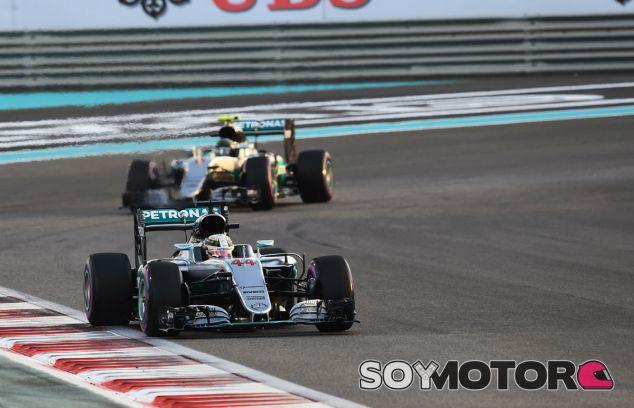 """Rosberg: """"Hamilton se equivocó al bajar el ritmo en Abu Dabi"""" - SoyMotor"""