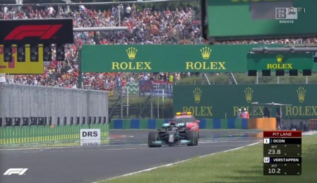 ¿Cómo habría sido la salida si Hamilton hubiera entrado a boxes? - SoyMotor.com