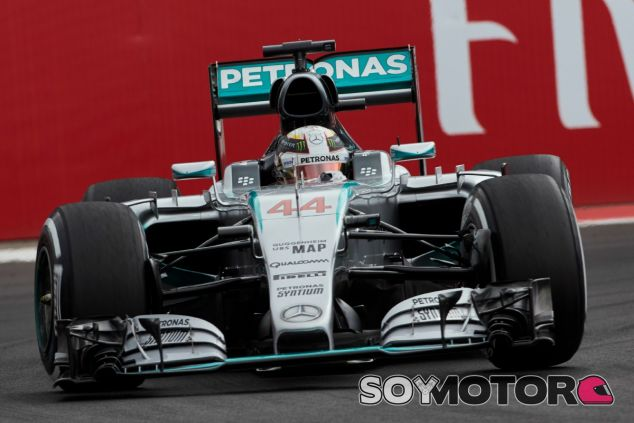 Hamilton, segundo en el Gran Premio de México - LaF1