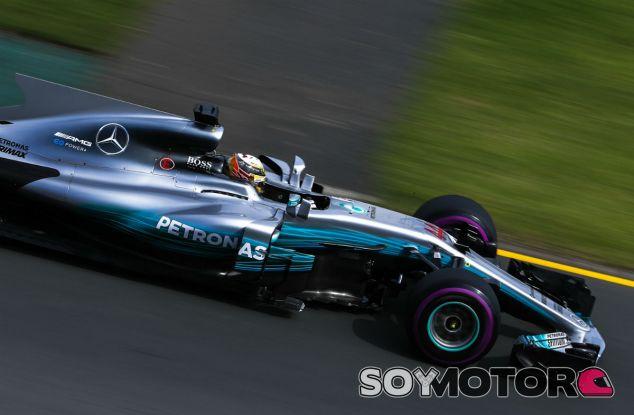 Mercedes en el GP de Australia F1 2017: Viernes - SoyMotor