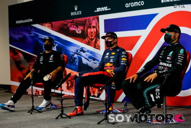GP del 70º Aniversario F1 2020: rueda de prensa del domingo - SoyMotor.com