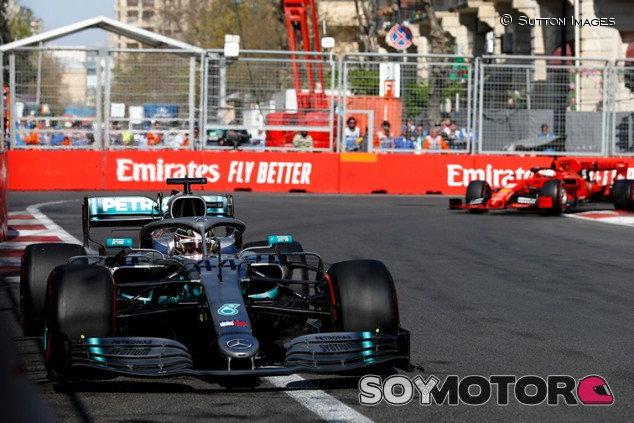 Binotto justifica lo lejos que terminó Vettel respecto a Mercedes en Bakú