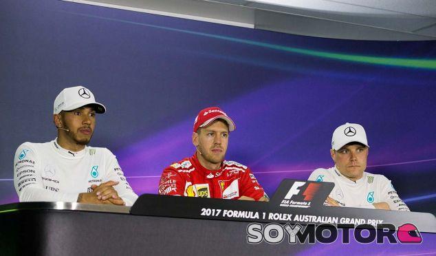 GP de Australia F1 2017: Rueda de prensa del domingo - SoyMotor.com